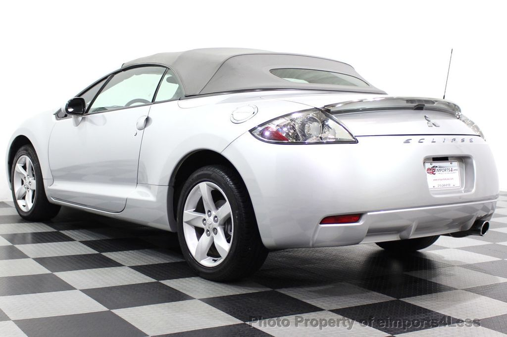 2007 Mitsubishi Eclipse CERTIFIED Spyder GS 5 SPEED MANUAL Rockford Fosgate - 18306798 - 44