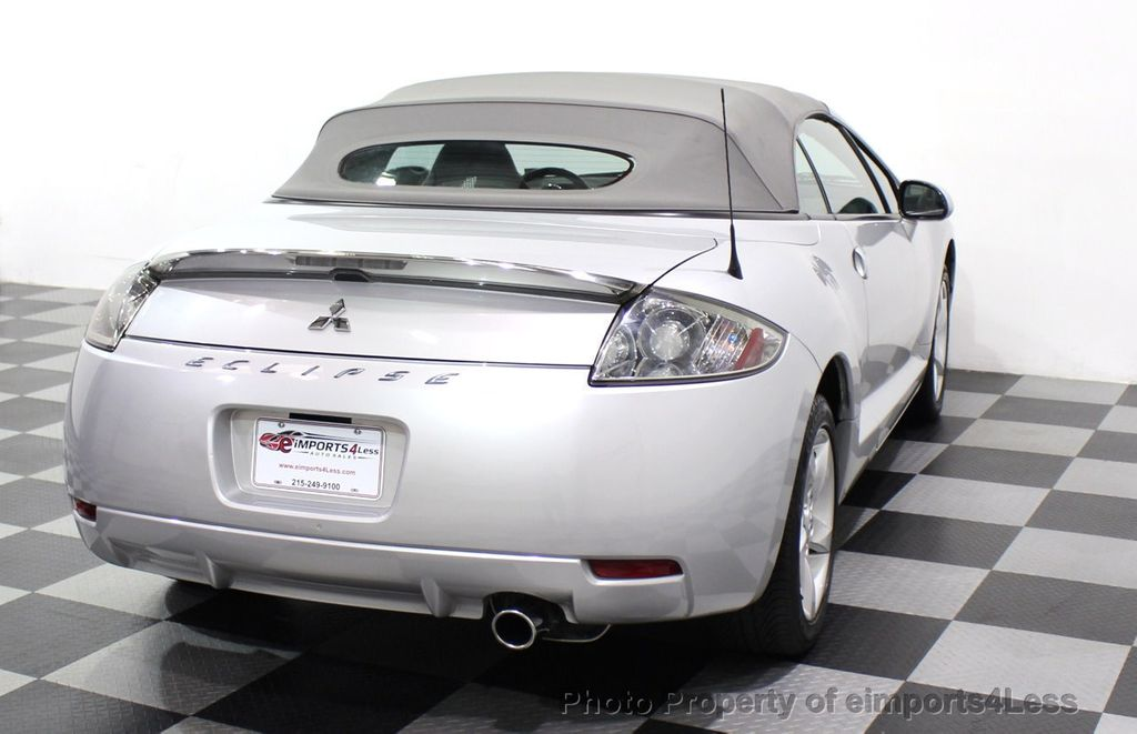 2007 Mitsubishi Eclipse CERTIFIED Spyder GS 5 SPEED MANUAL Rockford Fosgate - 18306798 - 45