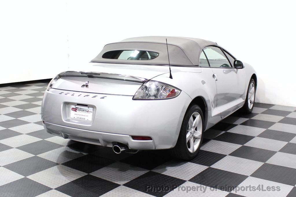 2007 Mitsubishi Eclipse CERTIFIED Spyder GS 5 SPEED MANUAL Rockford Fosgate - 18306798 - 55