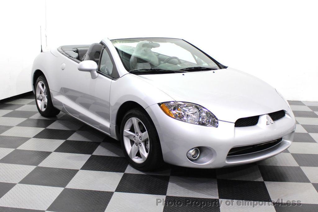 2007 Mitsubishi Eclipse CERTIFIED Spyder GS 5 SPEED MANUAL Rockford Fosgate - 18306798 - 56