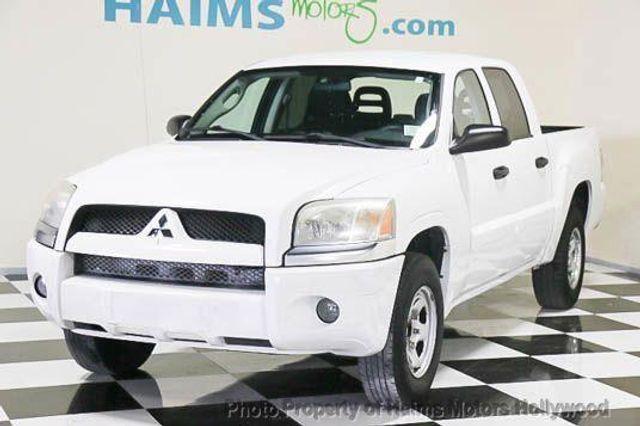 2007 Used Mitsubishi Raider 2wd Double Cab V6 Auto Ls At Haims