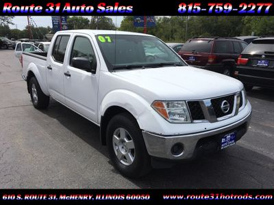 2007 Nissan Frontier 4WD Crew Cab LWB Automatic SE *Late Avai Truck