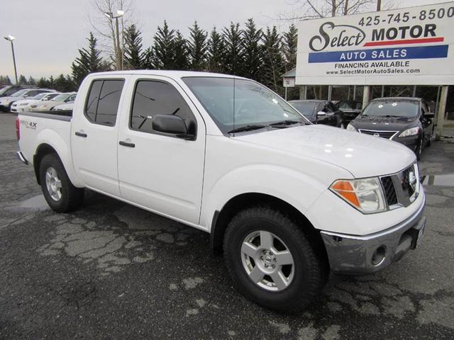 2007 Nissan Frontier 4WD Crew Cab SWB Automatic SE Truck    1N6AD07W17C434002   1