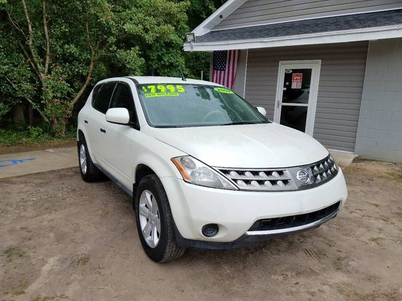 Nissan Florence Sc >> 2007 Nissan Murano 2WD 4dr SL SUV for Sale Florence, SC - $7,995 - Motorcar.com