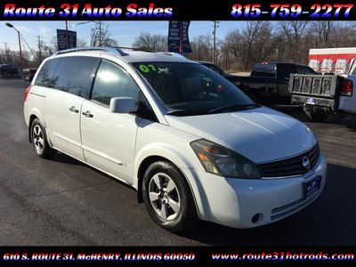 2007 Nissan Quest 4dr S - Click to see full-size photo viewer