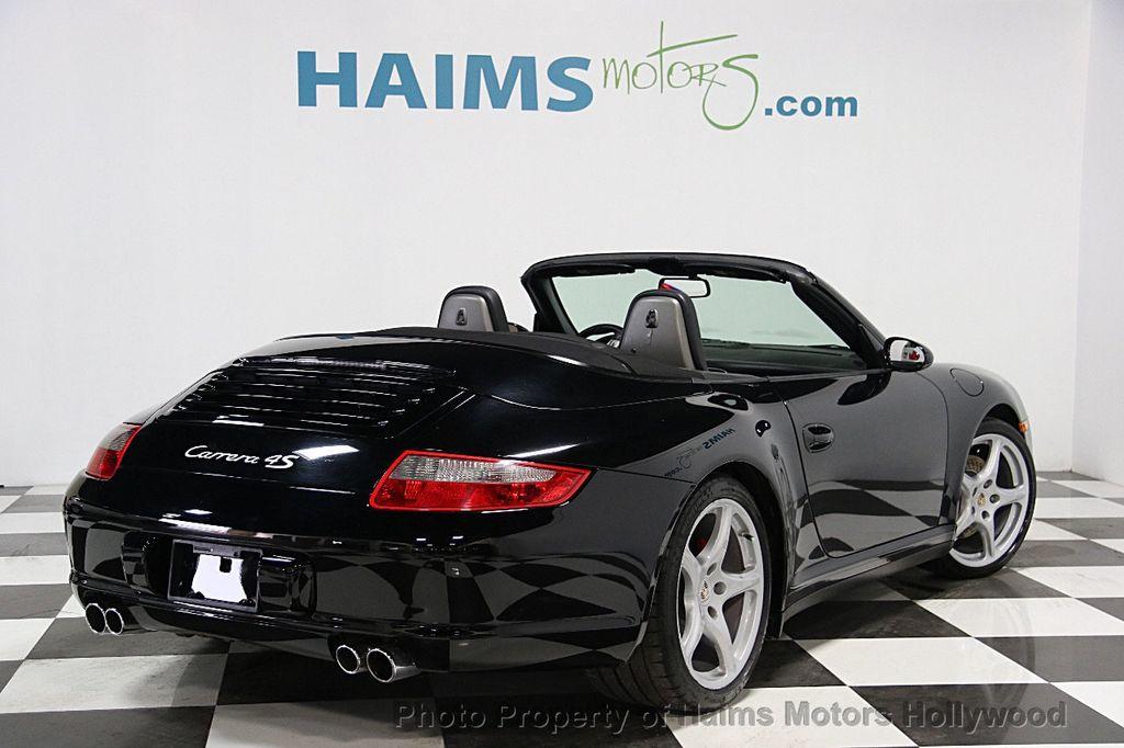 2007 used porsche 911 carrera 4s cabriolet at haims motors serving fort lauderdale hollywood. Black Bedroom Furniture Sets. Home Design Ideas