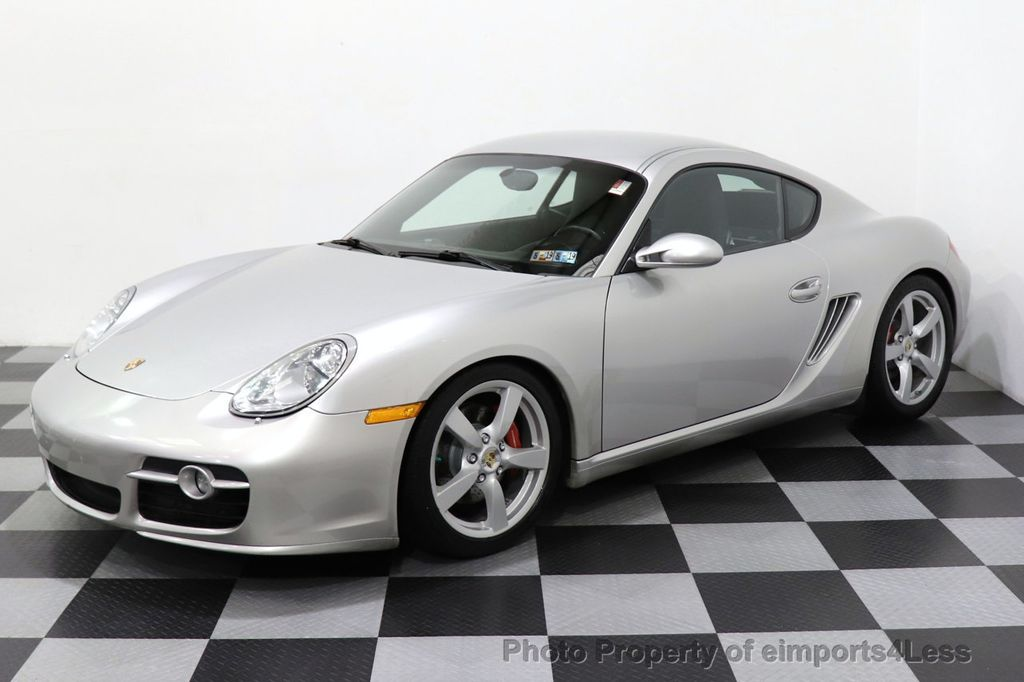 2007 Porsche Cayman CERTIFIED CAYMAN S 6 SPEED MANUAL HEATED SEATS - 18467693 - 10
