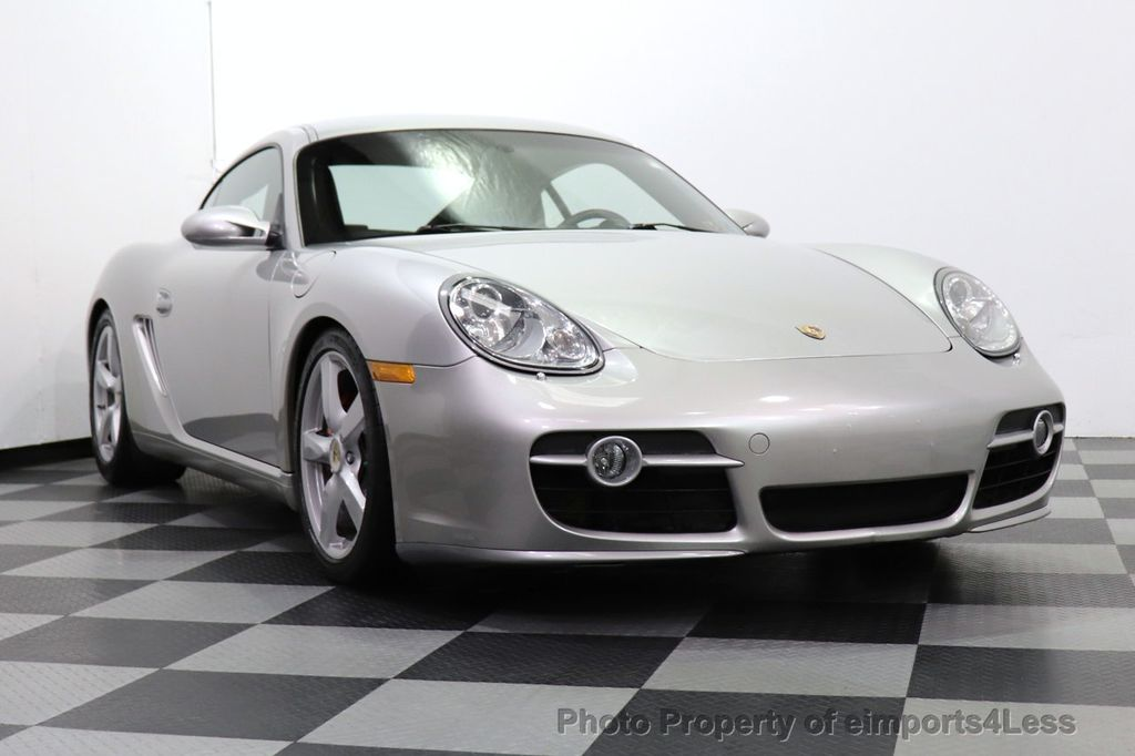 2007 Porsche Cayman CERTIFIED CAYMAN S 6 SPEED MANUAL HEATED SEATS - 18467693 - 11