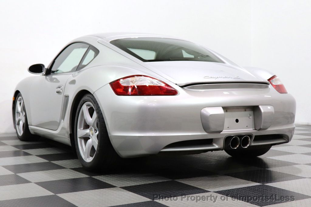 2007 Porsche Cayman CERTIFIED CAYMAN S 6 SPEED MANUAL HEATED SEATS - 18467693 - 12