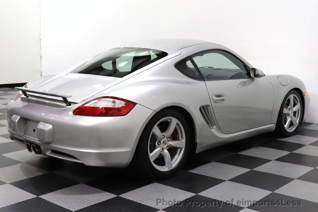 2007 Porsche Cayman CERTIFIED CAYMAN S 6 SPEED MANUAL HEATED SEATS - 18467693 - 14