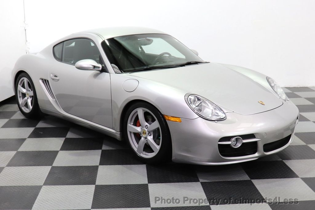 2007 Porsche Cayman CERTIFIED CAYMAN S 6 SPEED MANUAL HEATED SEATS - 18467693 - 1