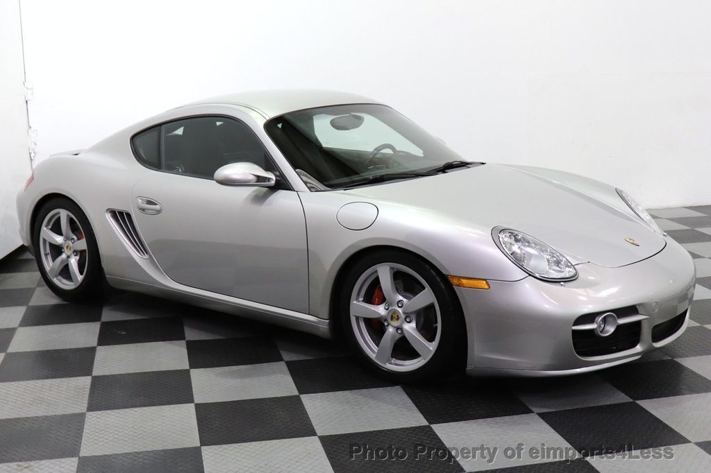 2007 Porsche Cayman CERTIFIED CAYMAN S 6 SPEED MANUAL HEATED SEATS - 18467693 - 24