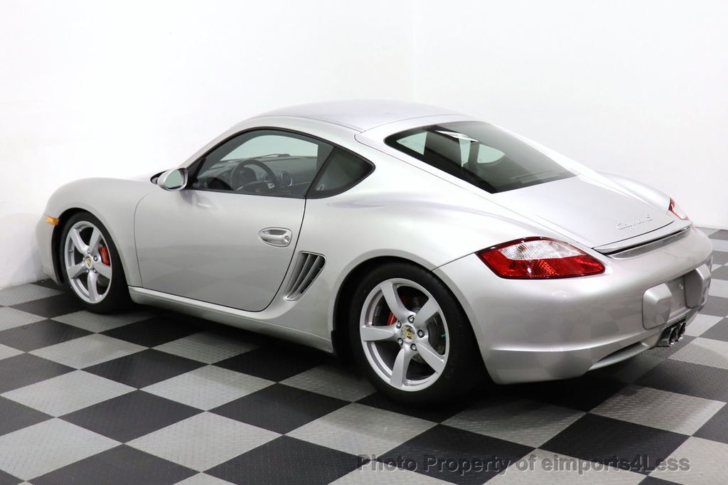 2007 Porsche Cayman CERTIFIED CAYMAN S 6 SPEED MANUAL HEATED SEATS - 18467693 - 25