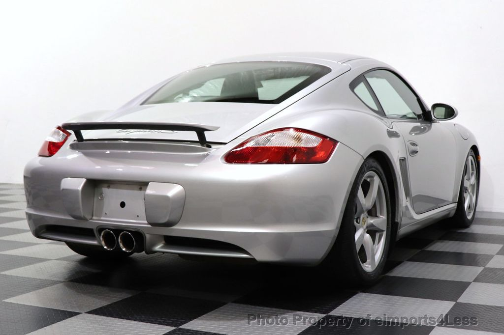 2007 Porsche Cayman CERTIFIED CAYMAN S 6 SPEED MANUAL HEATED SEATS - 18467693 - 27