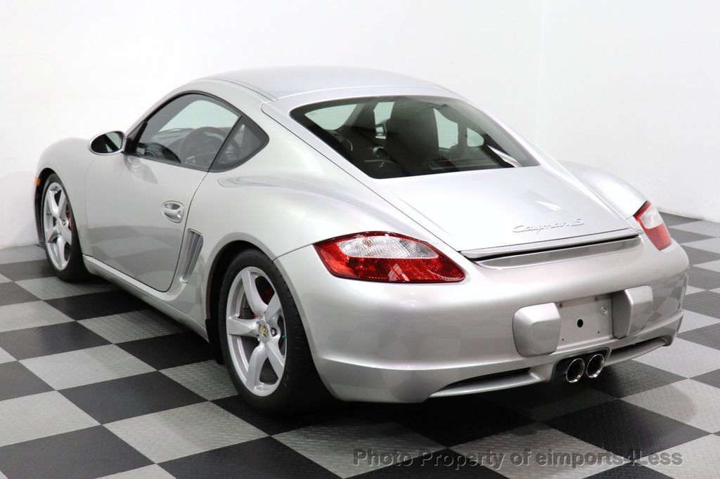 2007 Porsche Cayman CERTIFIED CAYMAN S 6 SPEED MANUAL HEATED SEATS - 18467693 - 2