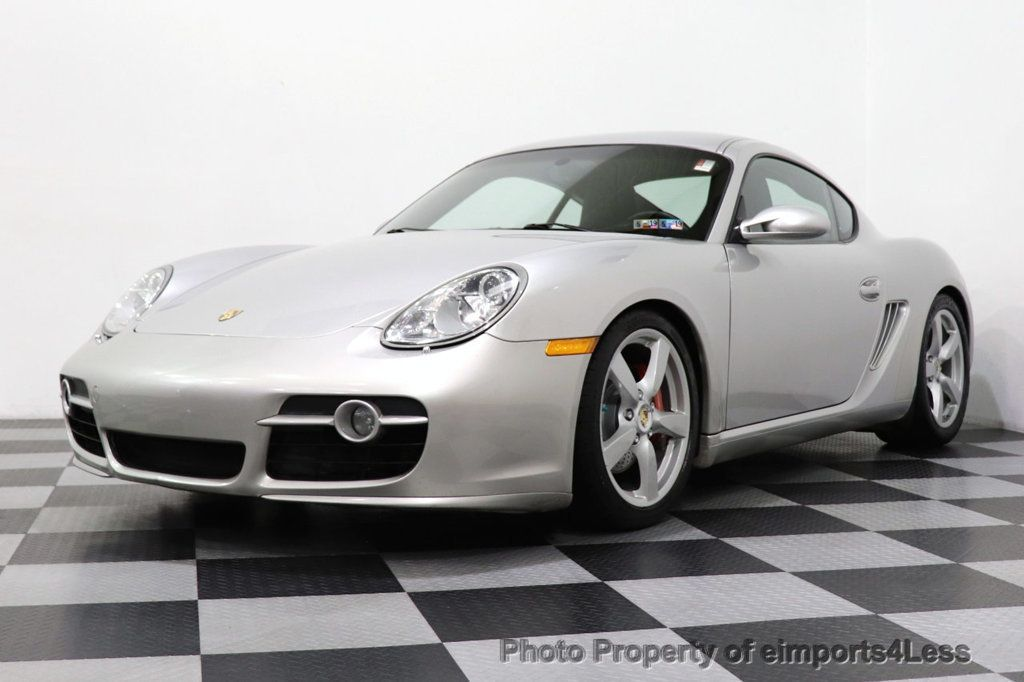 2007 Porsche Cayman CERTIFIED CAYMAN S 6 SPEED MANUAL HEATED SEATS - 18467693 - 37