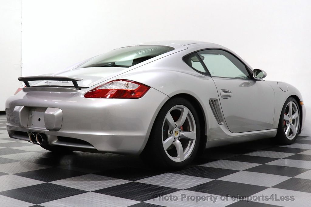 2007 Porsche Cayman CERTIFIED CAYMAN S 6 SPEED MANUAL HEATED SEATS - 18467693 - 3