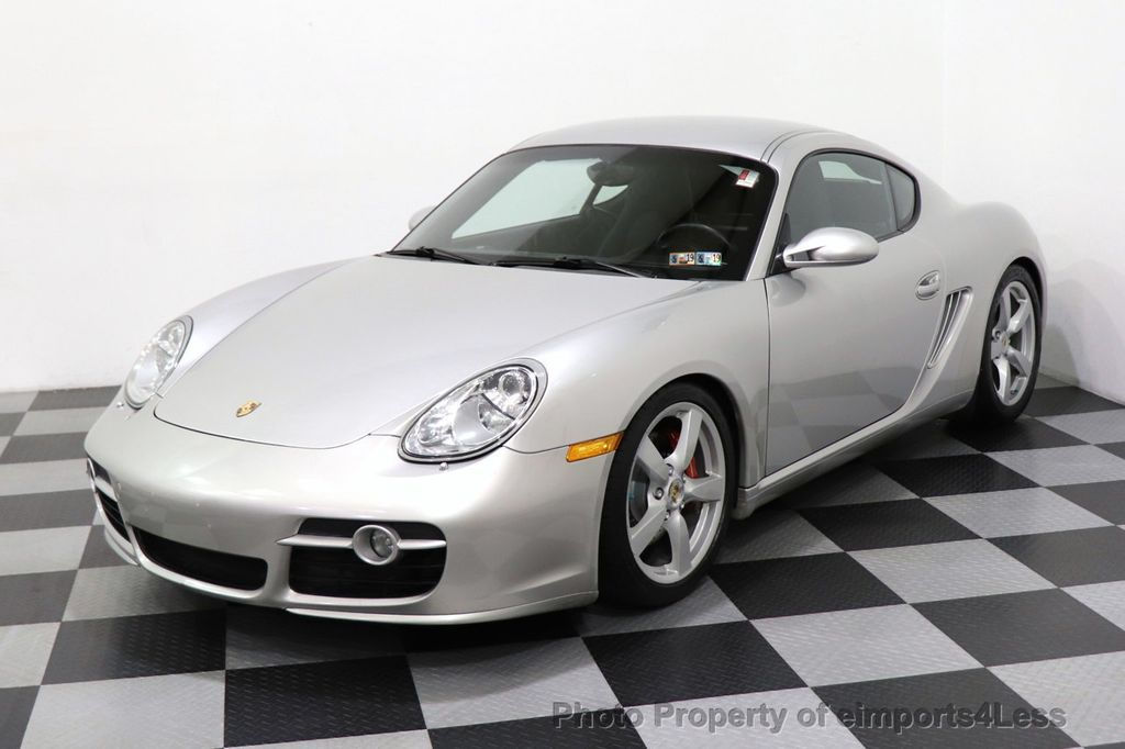 2007 Porsche Cayman CERTIFIED CAYMAN S 6 SPEED MANUAL HEATED SEATS - 18467693 - 38