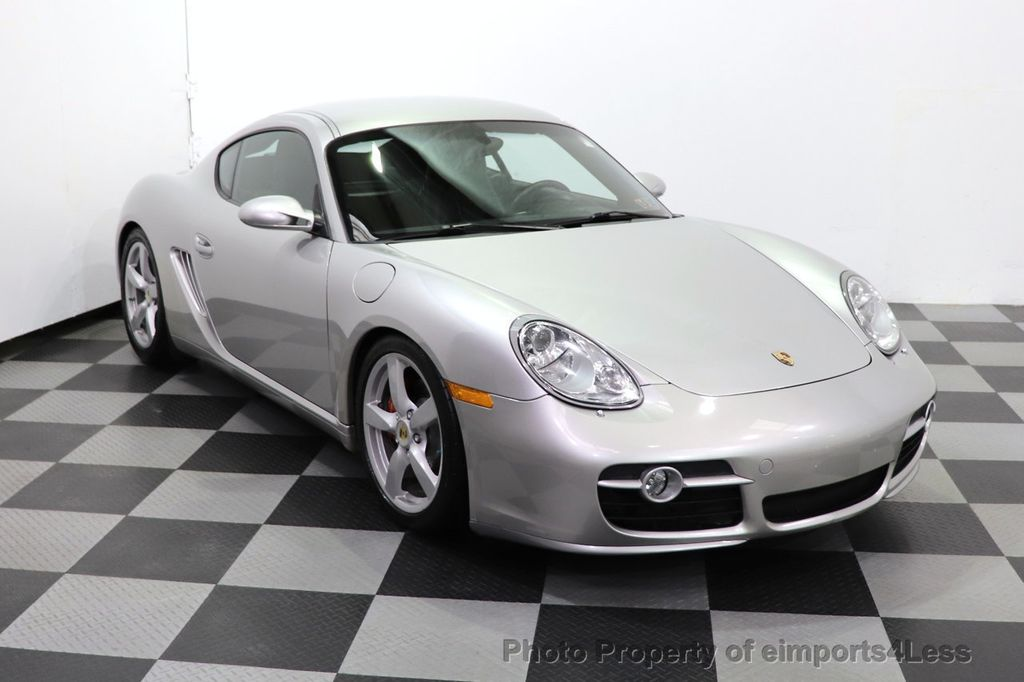 2007 Porsche Cayman CERTIFIED CAYMAN S 6 SPEED MANUAL HEATED SEATS - 18467693 - 39