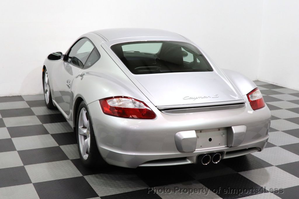 2007 Porsche Cayman CERTIFIED CAYMAN S 6 SPEED MANUAL HEATED SEATS - 18467693 - 40