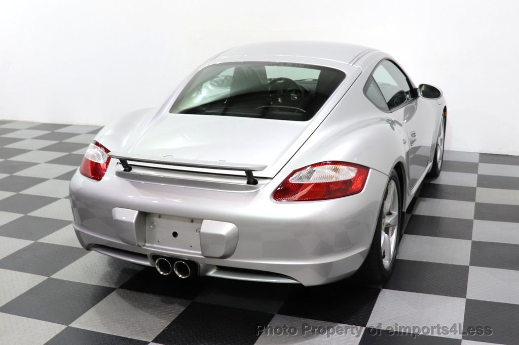 2007 Porsche Cayman CERTIFIED CAYMAN S 6 SPEED MANUAL HEATED SEATS - 18467693 - 41