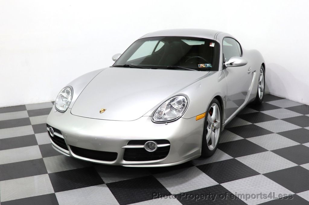 2007 Porsche Cayman CERTIFIED CAYMAN S 6 SPEED MANUAL HEATED SEATS - 18467693 - 44