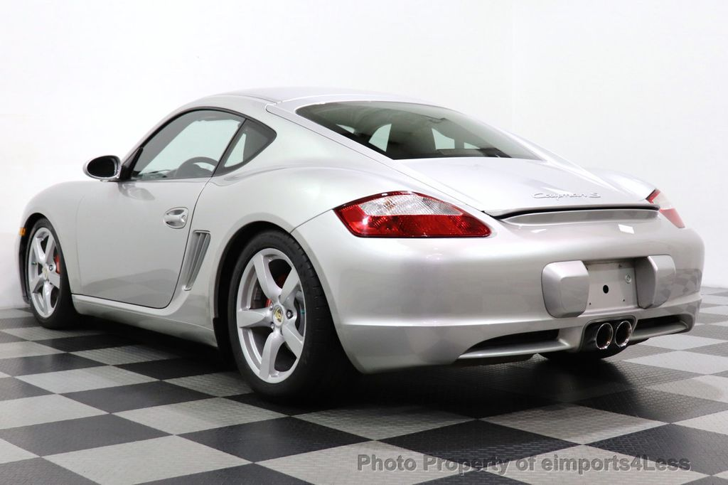2007 Porsche Cayman CERTIFIED CAYMAN S 6 SPEED MANUAL HEATED SEATS - 18467693 - 45