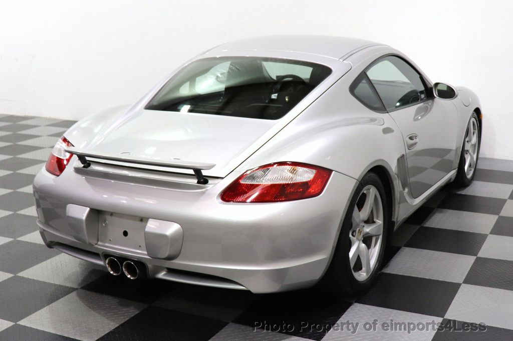 2007 Porsche Cayman CERTIFIED CAYMAN S 6 SPEED MANUAL HEATED SEATS - 18467693 - 46