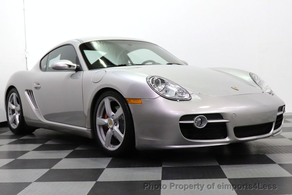 2007 Porsche Cayman CERTIFIED CAYMAN S 6 SPEED MANUAL HEATED SEATS - 18467693 - 47