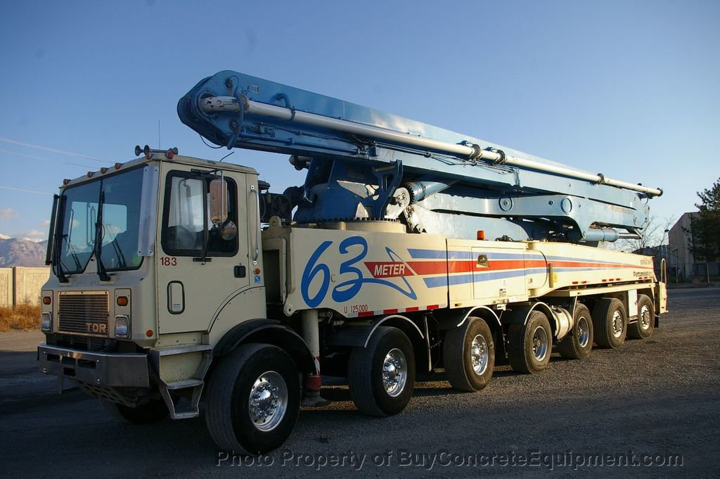 2007 Putzmeister 63m TOR Chassis - 17773435 - 0