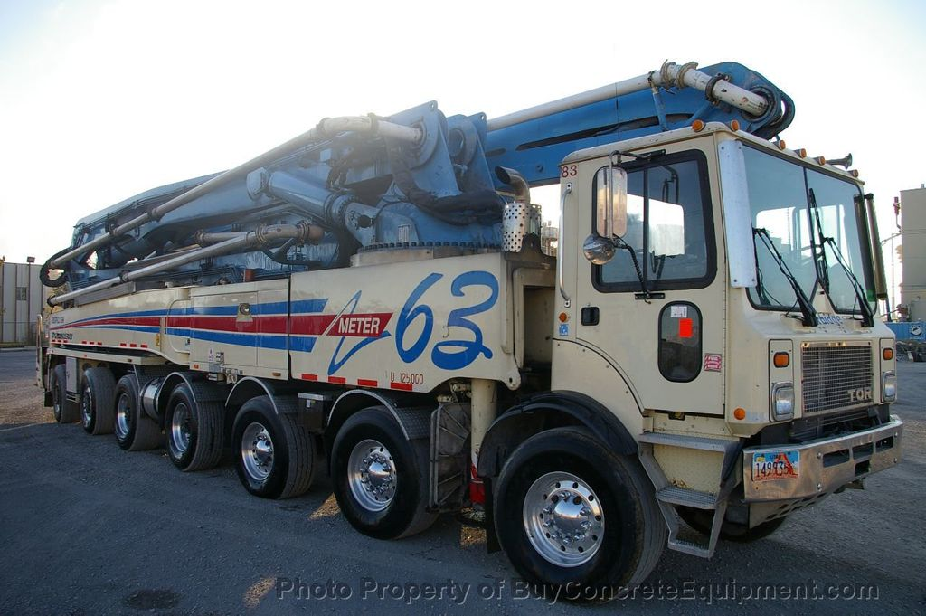 2007 Putzmeister 63m TOR Chassis - 17773435 - 1