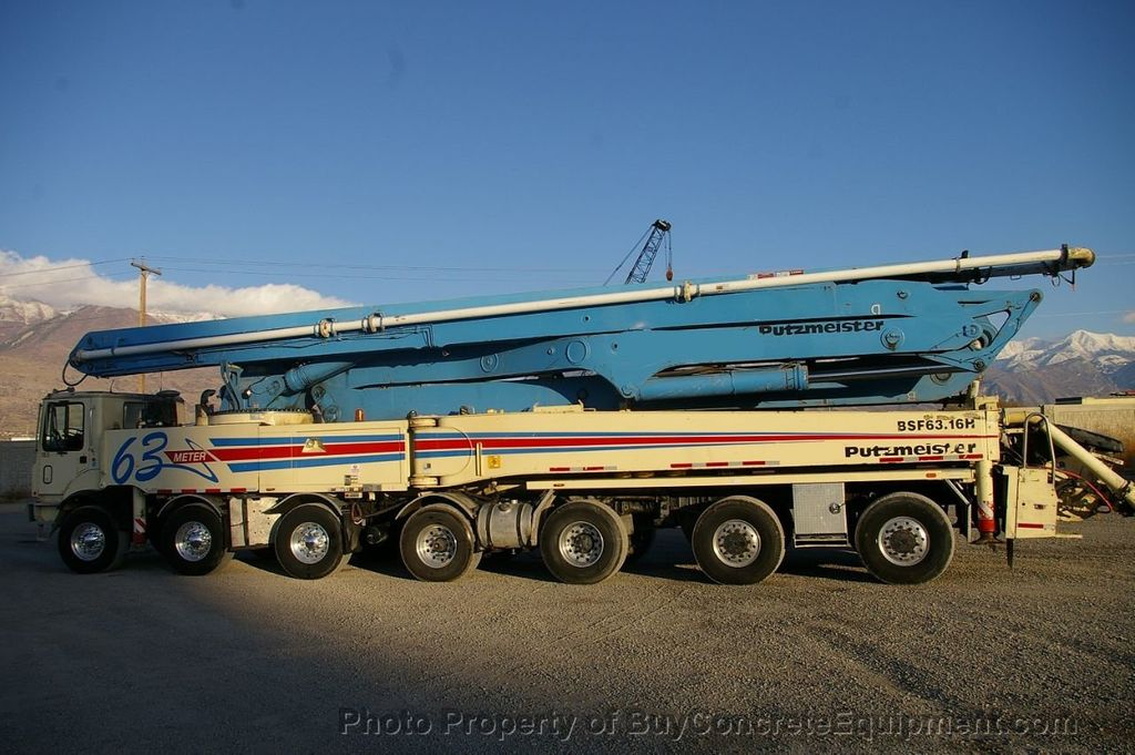 2007 Putzmeister 63m TOR Chassis - 17773435 - 2
