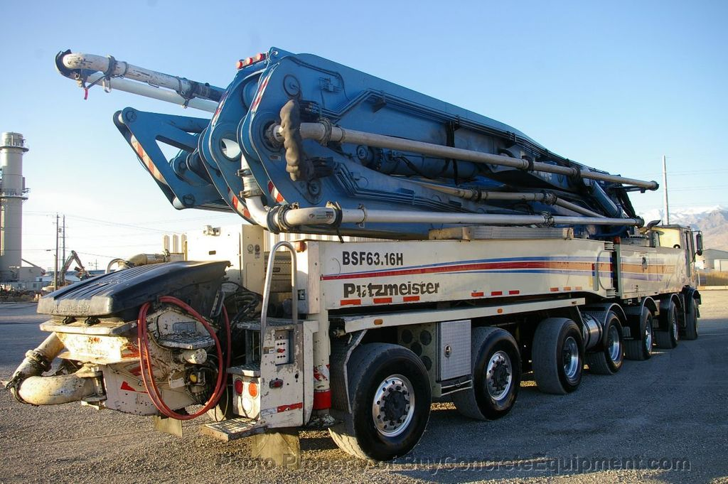 2007 Putzmeister 63m TOR Chassis - 17773435 - 4