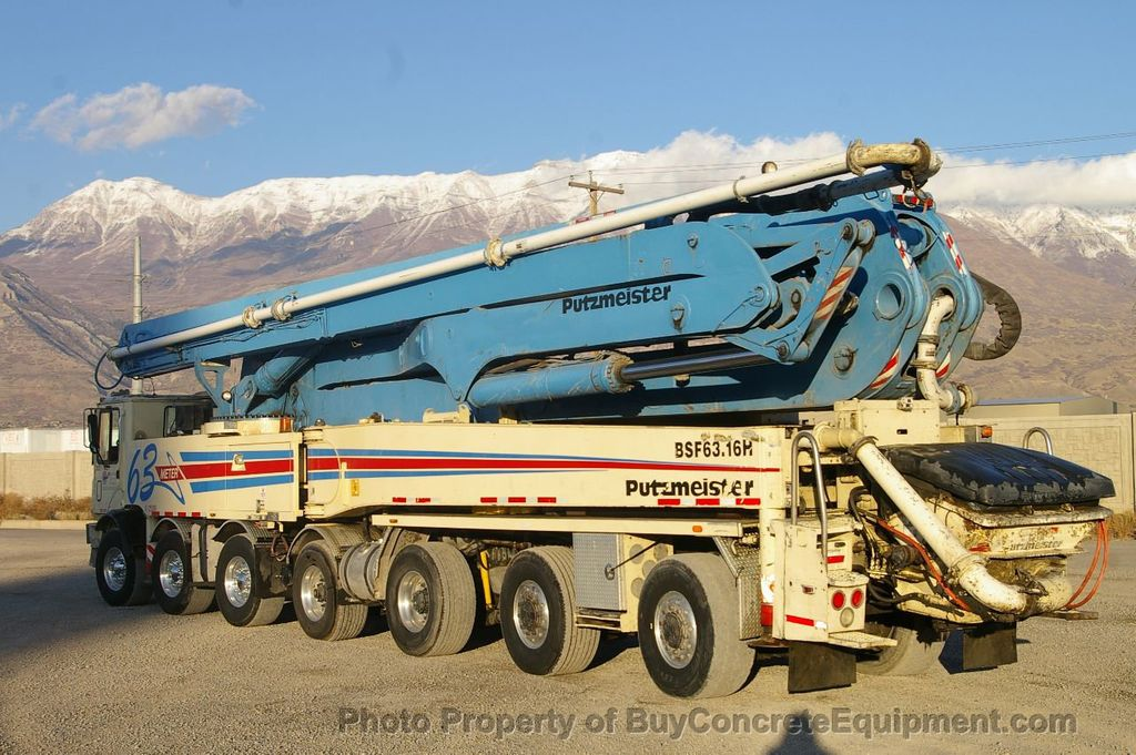 2007 Putzmeister 63m TOR Chassis - 17773435 - 5