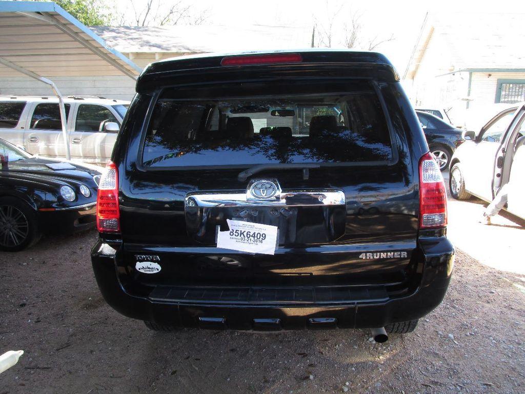Used Toyota Runner WD Dr V SR At Bayona Motor Werks - 2007 4runner