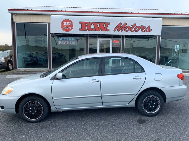 Toyota Corolla Used >> 2007 Used Toyota Corolla 4dr Sedan Automatic Ce At R W Motors Serving Princess Anne Md Iid 18991612