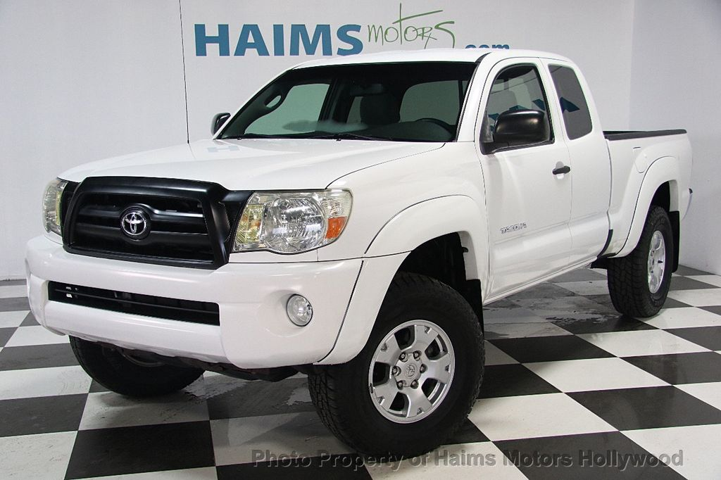2007 used toyota tacoma prerunner at haims motors hollywood serving fort lauderdale hollywood. Black Bedroom Furniture Sets. Home Design Ideas