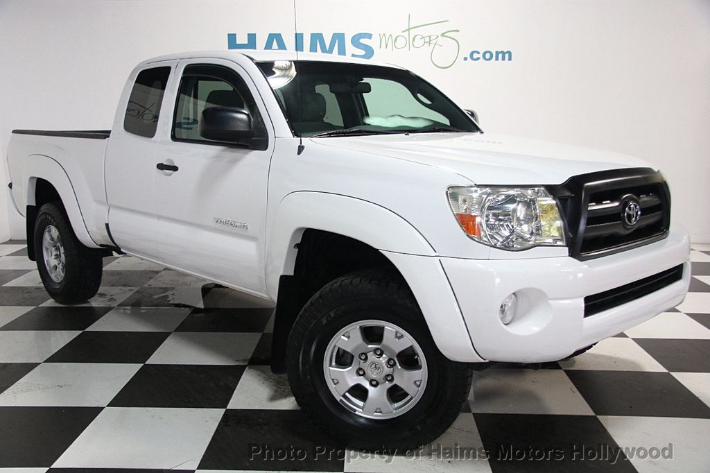 2007 used toyota tacoma prerunner at haims motors ft. Black Bedroom Furniture Sets. Home Design Ideas