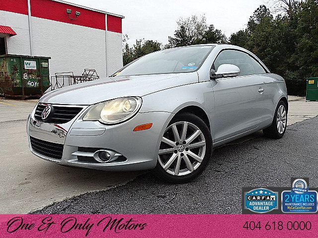 2007 Used Volkswagen Eos 2dr Convertible Dsg 2 0t At One And Only Motors Serving Doraville Ga Iid 18179887