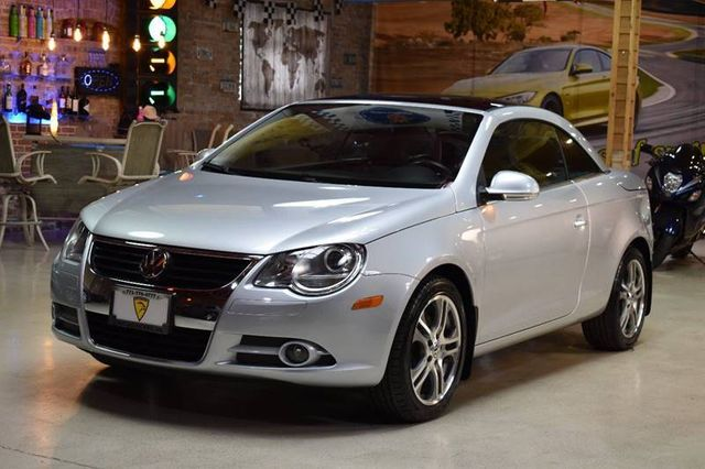 2007 volkswagen eos 2dr convertible dsg 2 0t for sale summit argo il 8 495. Black Bedroom Furniture Sets. Home Design Ideas