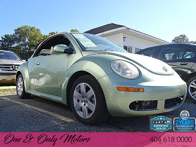 2007 Volkswagen New Beetle Convertible 2dr Manual 3vwpf31y17m403637 0