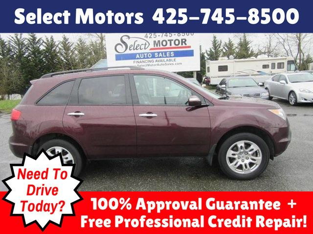 2008 Acura MDX 4WD 4dr Tech/Entertainment Pkg SUV - 2HNYD28498H515946 - 0
