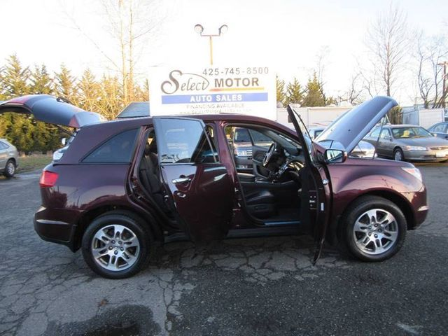 2008 Acura MDX 4WD 4dr Tech/Entertainment Pkg SUV - 2HNYD28498H515946 - 11