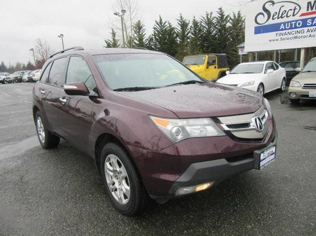 2008 Acura MDX 4WD 4dr Tech/Entertainment Pkg SUV - 2HNYD28498H515946 - 1