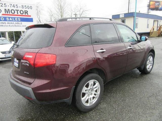 2008 Acura MDX 4WD 4dr Tech/Entertainment Pkg SUV - 2HNYD28498H515946 - 2