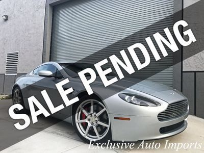2008 Aston Martin Vantage V8 VANTAGE COUPE SPORTSHIFT 1-OWNER AMAZING COLORCOMBO