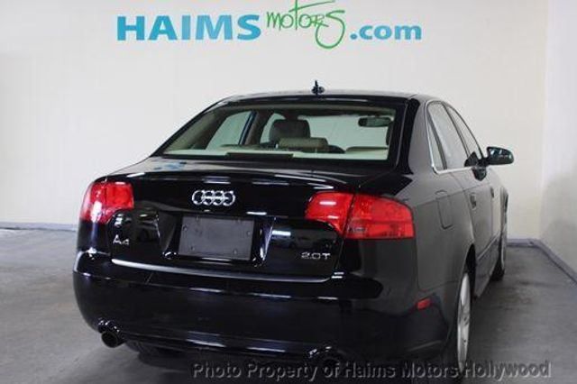2008 Used Audi A4 20t At Haims Motors Serving Fort Lauderdale