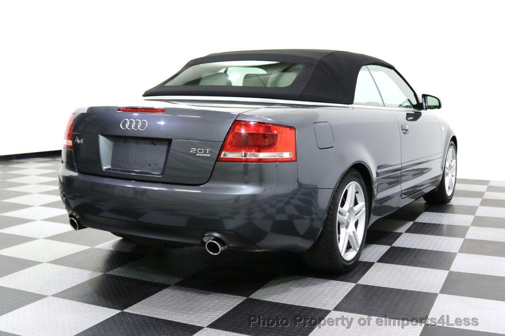 2008 Audi A4 CERTIFIED A4 2.0T Quattro AWD BOSE XENONS SIRIUS - 17823713 - 14