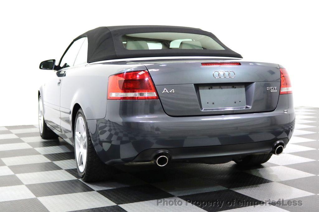 2008 Audi A4 CERTIFIED A4 2.0T Quattro AWD BOSE XENONS SIRIUS - 17823713 - 25