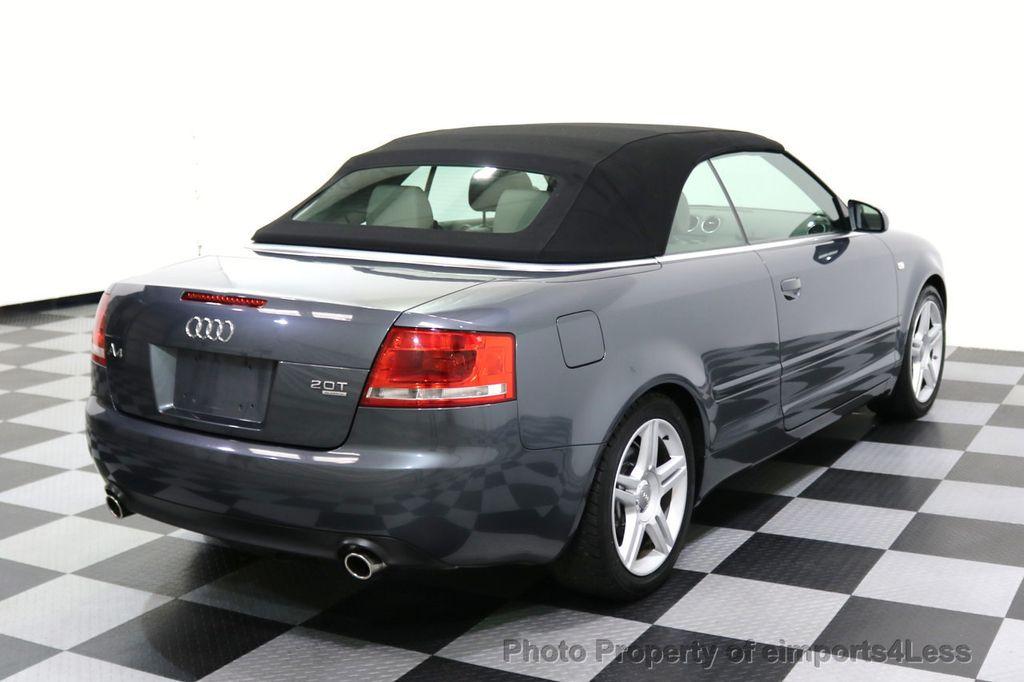 2008 Audi A4 CERTIFIED A4 2.0T Quattro AWD BOSE XENONS SIRIUS - 17823713 - 27